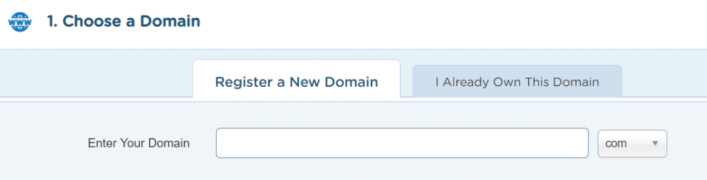 how-to-make-a-wordpress-website-Choose-a-Domain-Name