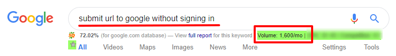 submit-url-to-google-without-signing-in-Google Search